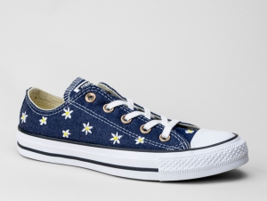 Converse Ctas Ox Navy/Fresh Yellow/White 555977C