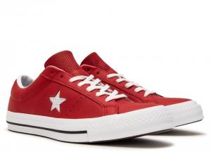 Мужские кеды Converse One Star Ox 158466C   (красный)