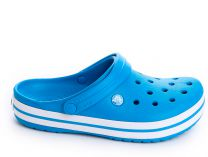 Сандалии Crocs Crocband 11016-4GL унисекс   (голубой/белый)