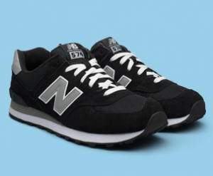 Sneakers New Balance suede M574nk