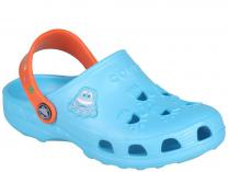 Детская пляжная обувь Coqui 6402 99 39 00 8701 Blue/Orange