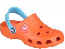 Детская пляжная обувь Coqui 6402 99 39 00 8701 Orange/Blue