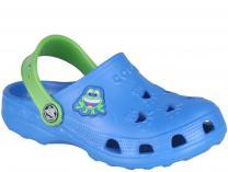 Детская пляжная обувь Coqui 6402 99 39 00 8701 Royal/ Lime