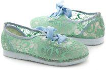 Детская текстильная обувь Las Espadrillas 2400-3   (бирюзовый)