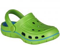 Детские сандалии Coqui 6402 99 39 00 6353 Lime/Sea blue