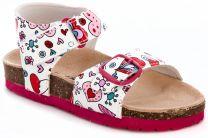 Lumberjack sandals Pink baby Cozy Step 240444