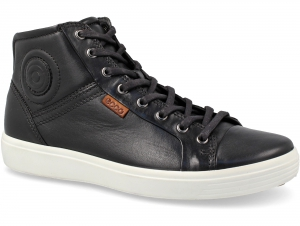 Зимние кеды Ecco Soft VII Black 430024-01001 Gore-Tex
