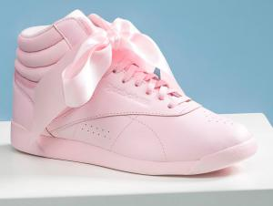 Жіночі кросівки Reebok Freestyle Hi Steals Hearts Hi Satin Bow CM8905