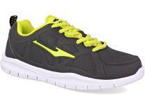 Спортивная обувь Erke 11114314147-004 унисекс   (тёмно-серый/чёрный/жёлтый/серый)
