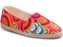 Textile shoes Desigual 41HS534/3036 unisex (blue/pink/red/yellow)