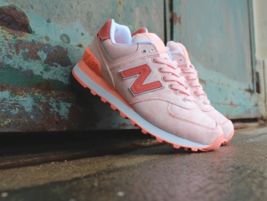 Sneakers New Balance WL574SWA Salmon Wash