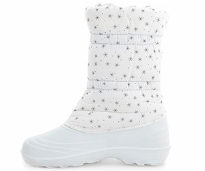 White Snowboots with Wool insulation Forester 1328-13