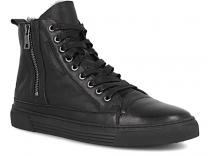 Мужские классические ботинки Forester 0058-27   (чёрный)