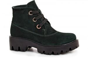Черевички Forester 0120-75394-22 Темно-зелені