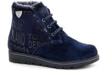 Winter boots Forester 155801-921 Navy Sheepskin