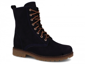 Women's boots Forester Combat Suede 3558-891