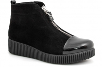 Женские ботиночки Forester 3577-27 Черные