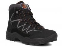 Мужские ботинки Forester 3696-V32   (чёрный)