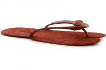 Кожаные тапочки Forester Home 4172-6 Оранжевые