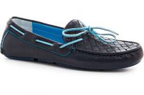 Мужские мокасины Forester 4650-89   (тёмно-синий)
