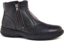 Мужские классические ботинки Forester 4835-V5   (чёрный)