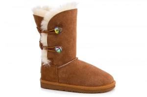 Kids ugg boots Forester 51003 - 1052-1 on natural sheepskin