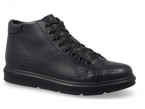 Men's shoes comfort 5778-105 Forester Black leather
