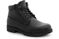 Men`s shoes Forester Black Mono 751-27 Black leather