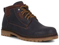 Мужские ботинки Forester 7757-705   (тёмно-синий)