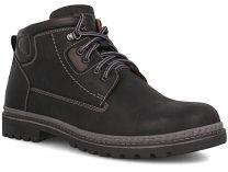 Мужские тимберленды Forester 8757-801   (чёрный)