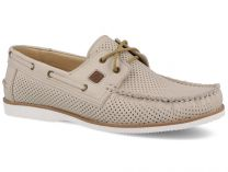 The Forester Perforation 4070-37 shoes unisex (beige/grey)