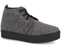 Фетровые ботинки Forester 659502-37