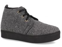 Winter boots Forester Shine Gry Felt 2016/Sneakers 659502-37 Forester Dark gray fleece