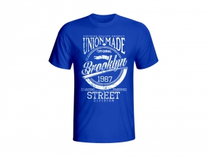 Мужские футболки Las Espadrillas 405114-D320   (синий)
