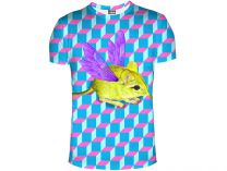 Mr.gugu And Miss Go Yellow Mouse T-Shirt 1042-3424