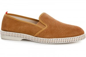 Men's moccasins Las Espadrillas Fv5071-1 Made in Italy