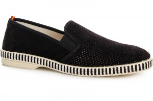 Suede sneakers  Las Espadrillas Fv5071-3 Black