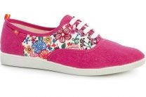Рожеві кеди Las Espadrillas Pink Rose Fv5800 Made in Spain