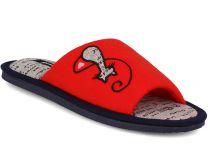 Жіночі тапочки Gemelli 1601484-47 (червоний)