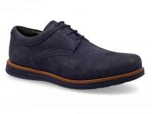 Мужские туфли Greyder Smart 03501-5262 Синий нубук