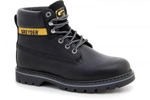 Man Boots Greyder 10450-5651 Black Leather
