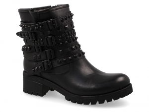 Women's boots Greyder 50580-27 Black leather
