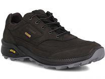 Мужские кроссовки Grisport Gritex Vibram 13109-S7g Made in Italy   (чёрный)