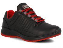 Кроссовки Grisport Ergo Flex 42811-D18 унисекс   (чёрный/красный)
