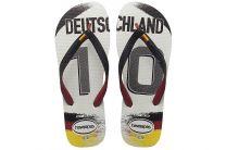 Пляжная обувь Havaianas 6 унисекс   (чёрный/белый)