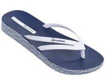 Шльопанці Ipanema Bossa Soft Fem 82064-21308 (темно-синій/білий)