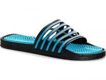 Italian massage Slippers Coral Coast Massage H96 Made in Italy (Navy/turquoise/blue)