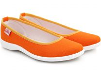 Балетки Las Espadrillas 300816-01   (оранжевый)