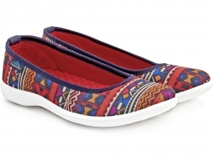 Женские балетки Las Espadrillas Red Karpet Motion Foam 300816-8947