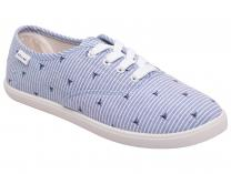 Женские кеды Calypso Casual Light Blue 9610-002